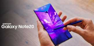Samsung GALAXY NOTE 20 chipset