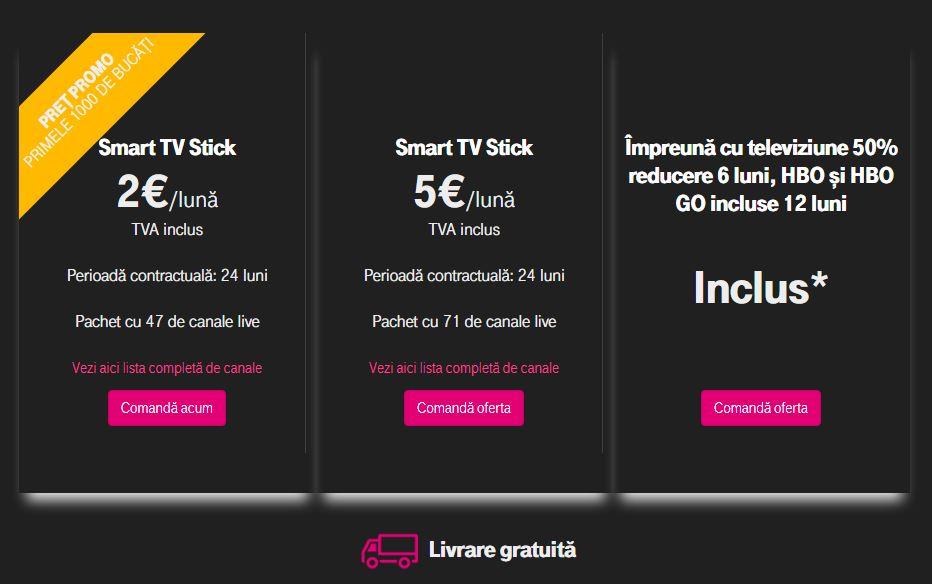 Telekom chromecast stick tv