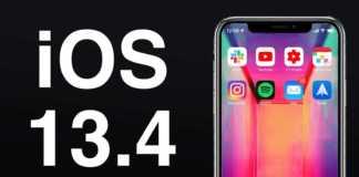 iOS 13.4.1 autonomia bateriei