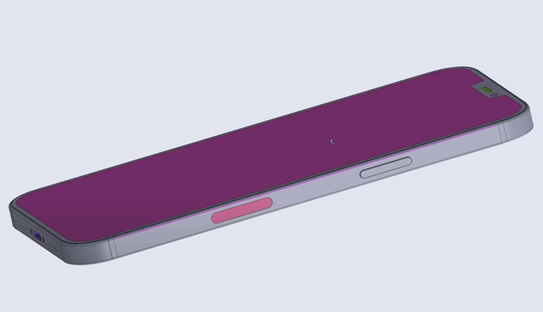 iPhone 12 Pro Max decupaj frontal