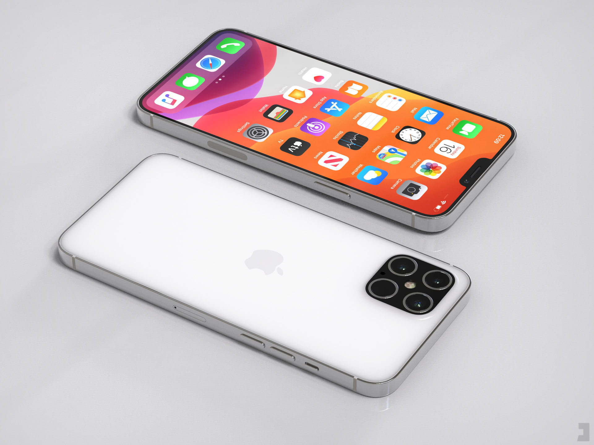 iPhone 12 arata concept camera
