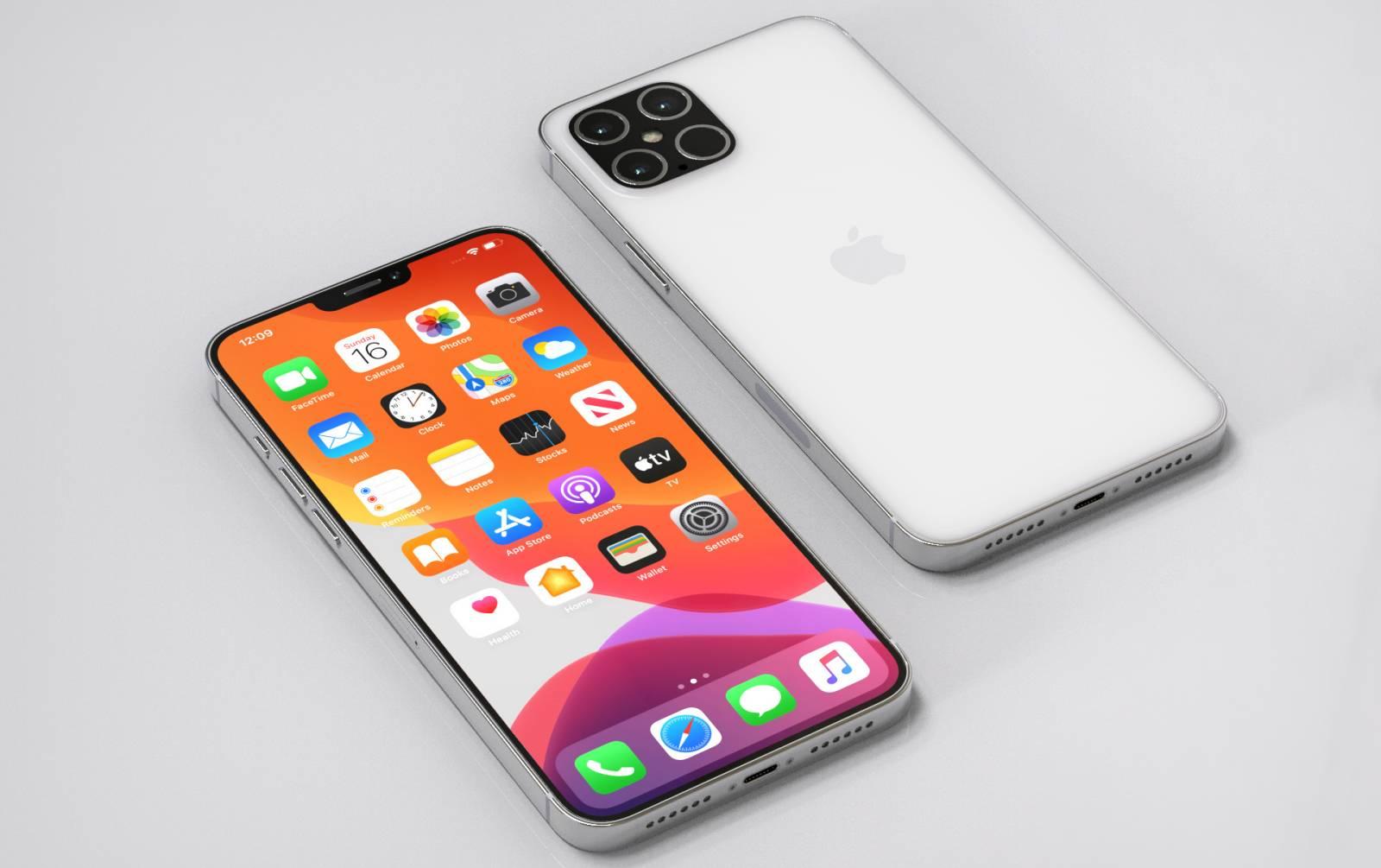 iPhone 12 arata concept