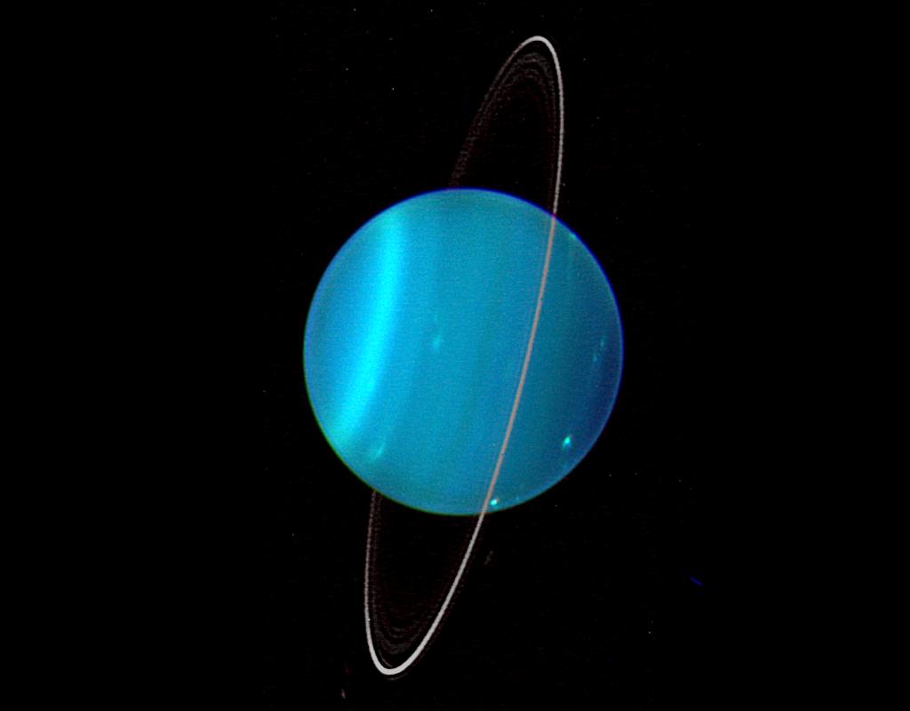 planeta uranus sens rotatie