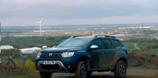 DACIA Duster top gear