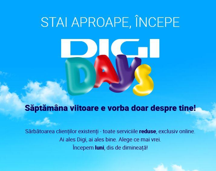DIGI Romania days reduceri