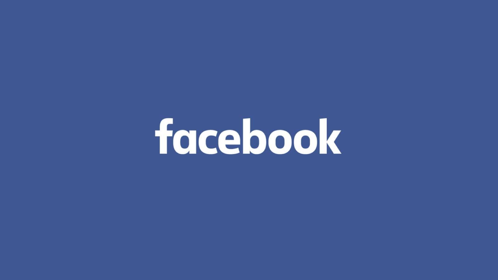 Facebook interfata website