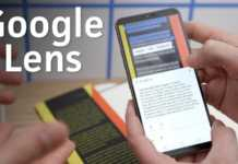 Google Lens traduceri