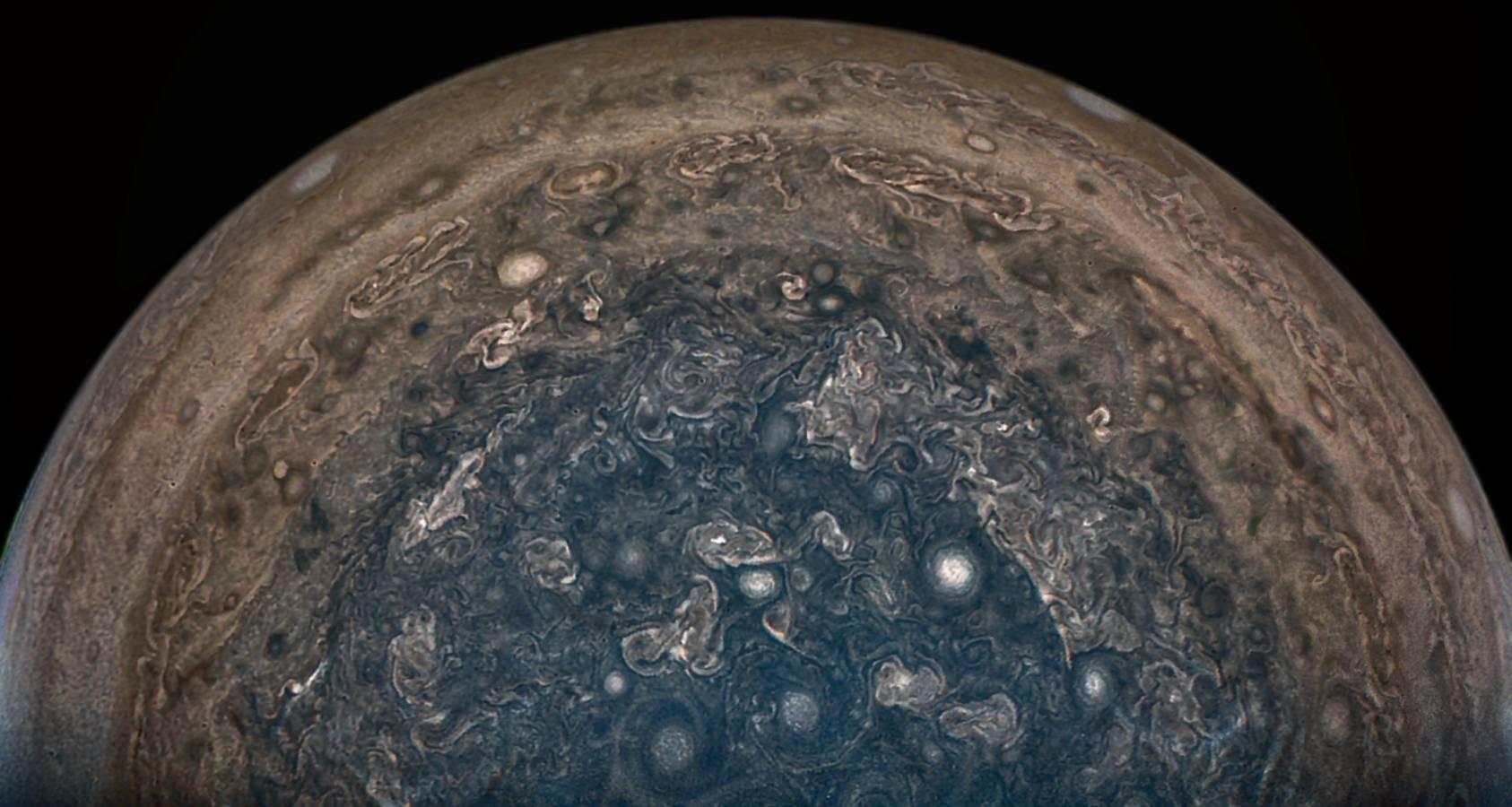 Planeta Jupiter impresionant