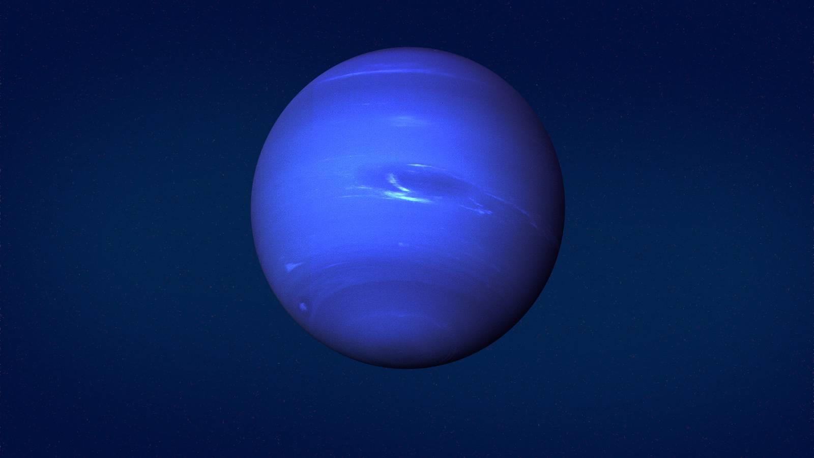 Planeta Neptun vanturi
