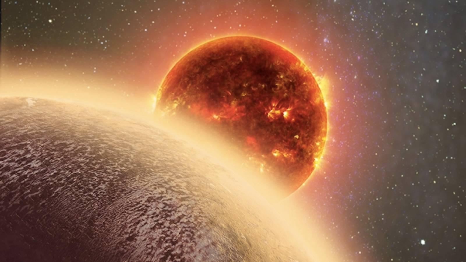 Planeta Venus curcubeu