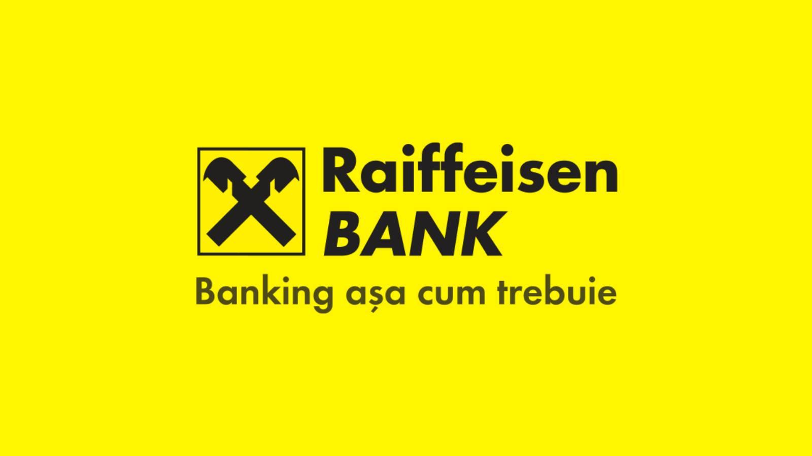 Raiffeisen Bank conexiune