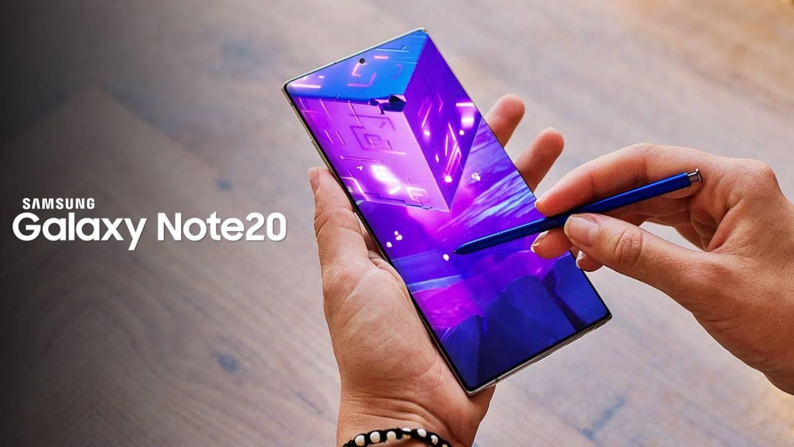 Samsung GALAXY Note 20 rezolvare