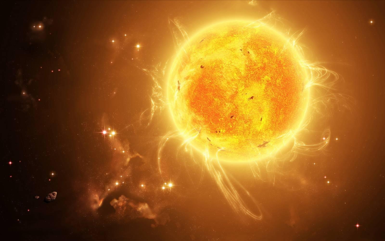 Soarele activitate