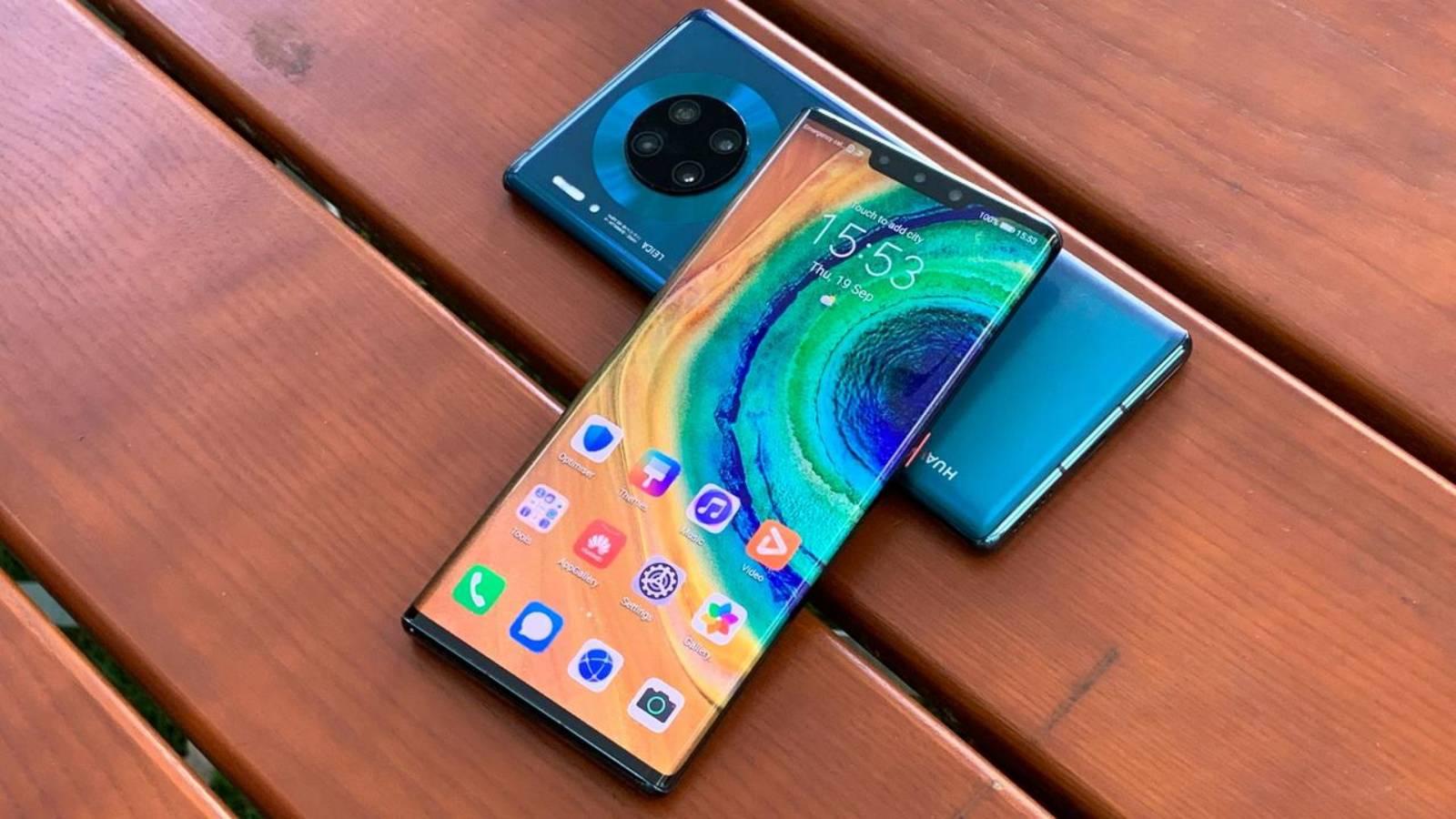 Telefoanele Huawei trump