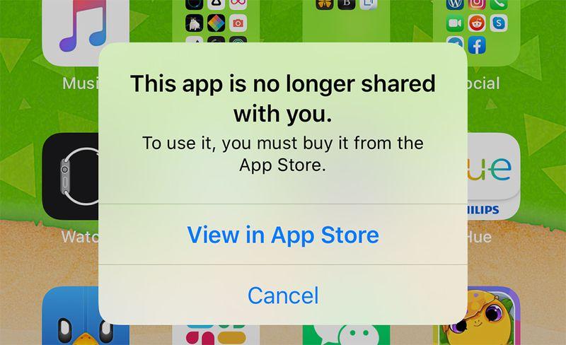 iOS 13 PROBLEMA Shared eroare