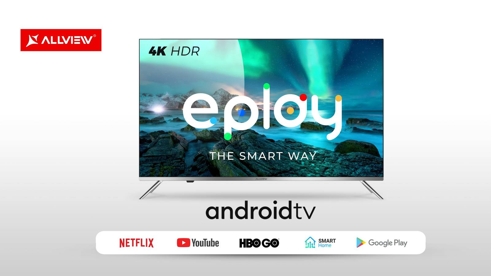 Allview Televizoarele ePlay 4K HDR