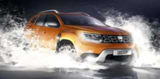 DACIA Duster invechit