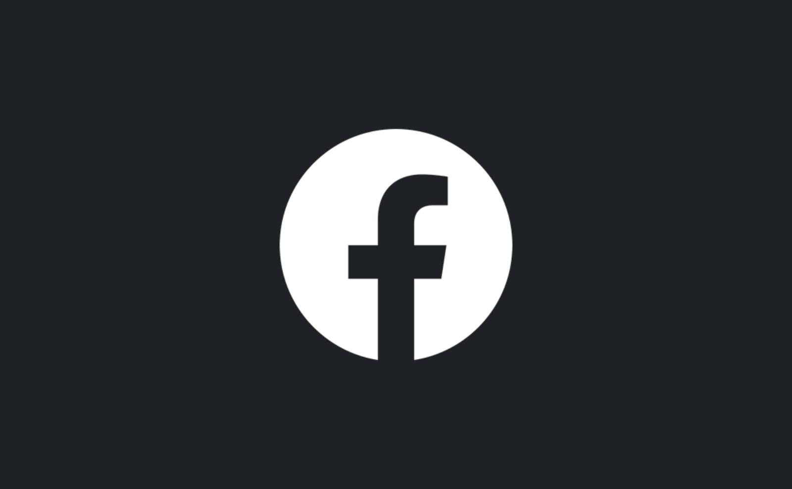 Facebook dark mode aplicatie