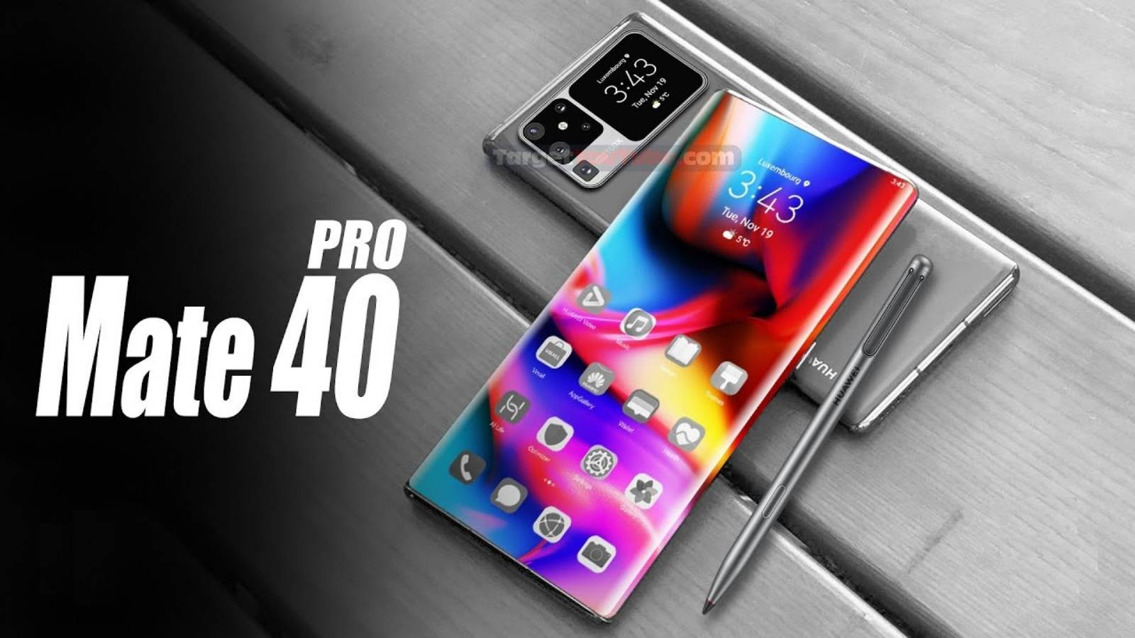 Huawei MATE 40 Pro ascundere