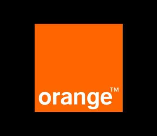 Orange fotbal