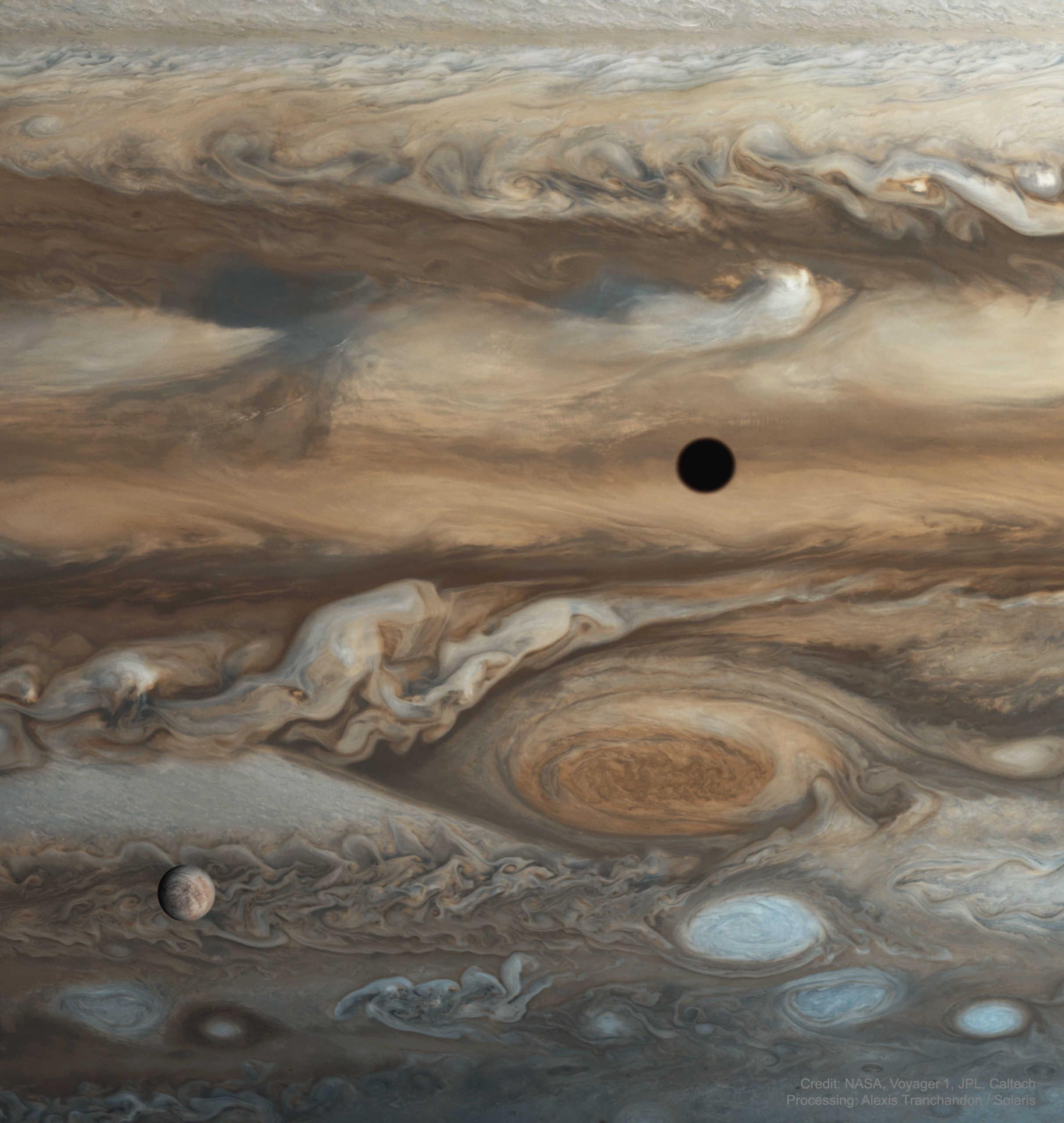 Planeta Jupiter companion europa