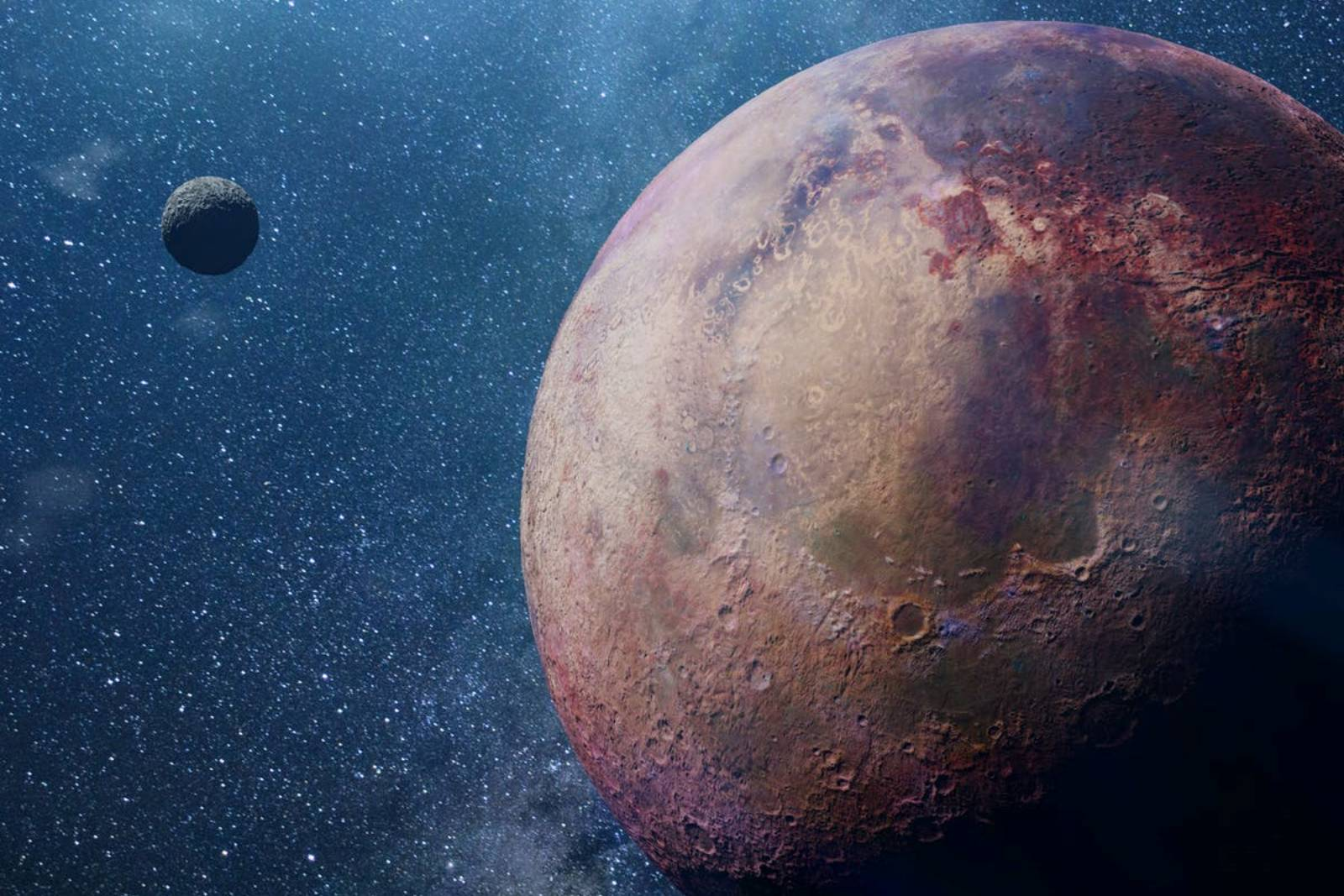 Planeta Jupiter rasarit