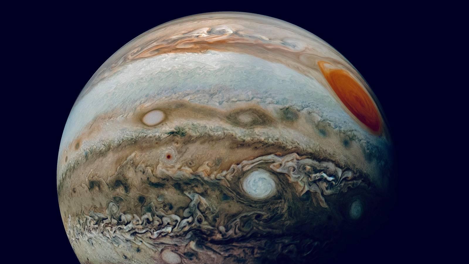 Planeta Jupiter straturi