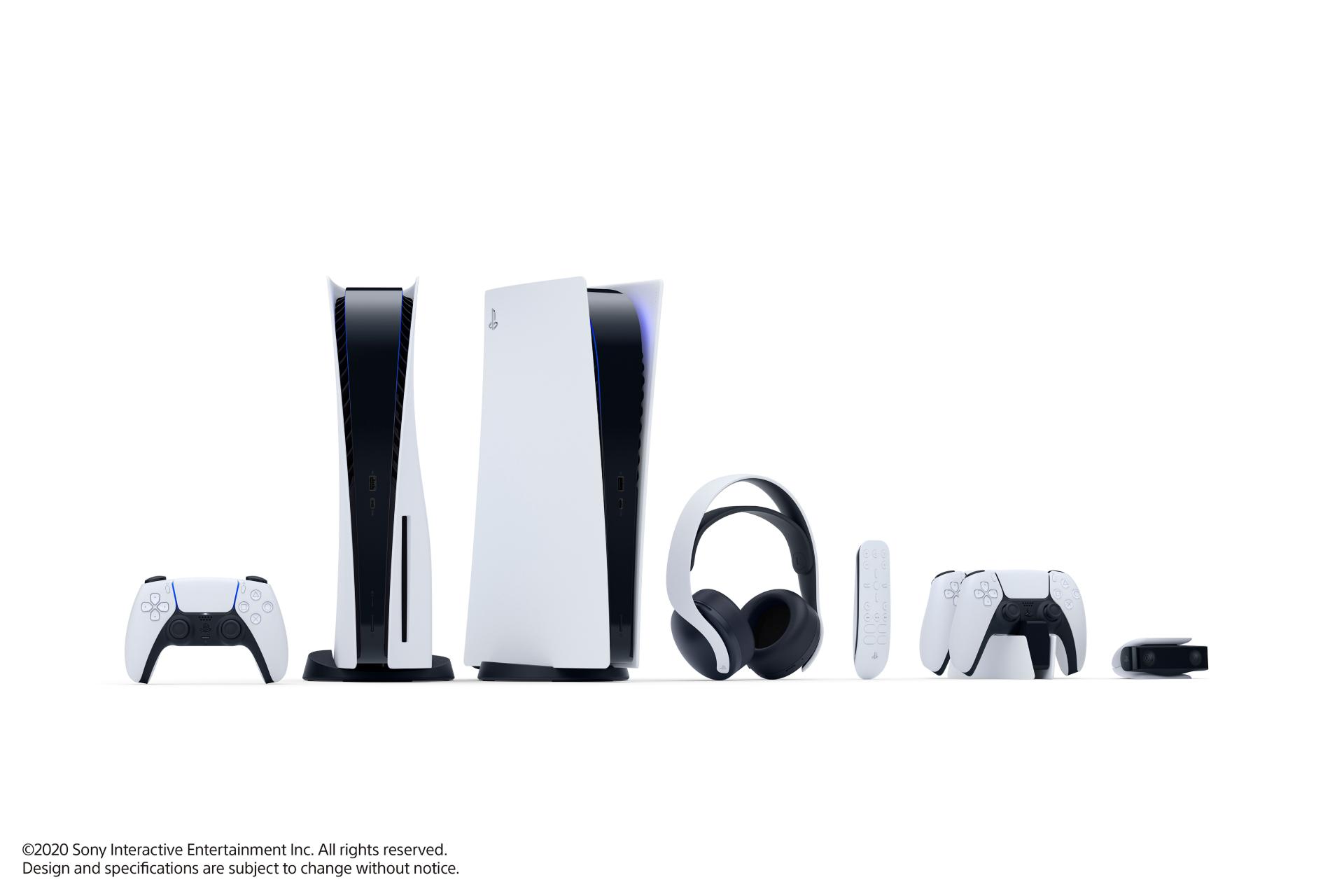 Playstation 5 Design lista jocuri consola