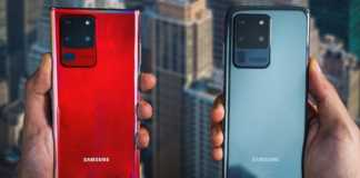 Samsung GALAXY Note 20 Plus camera