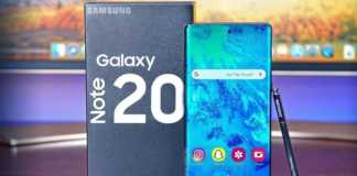 Samsung GALAXY Note 20 forma