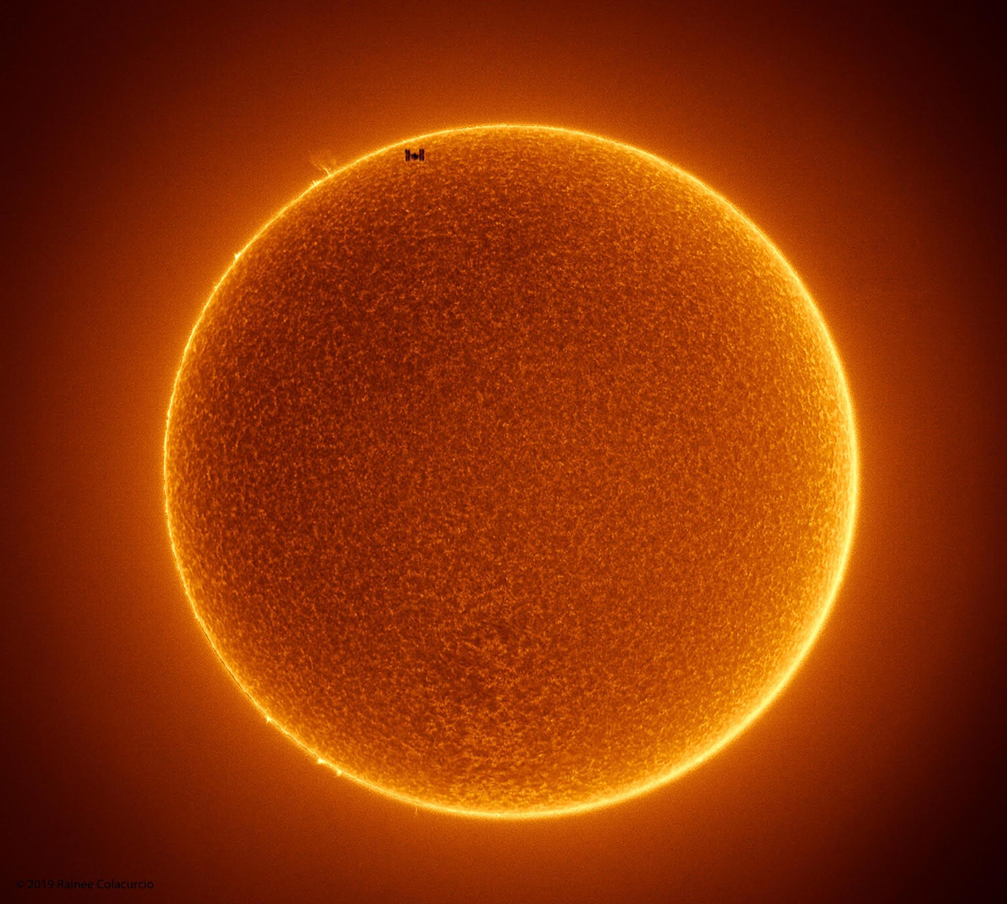 Soarele statie spatiala internationala