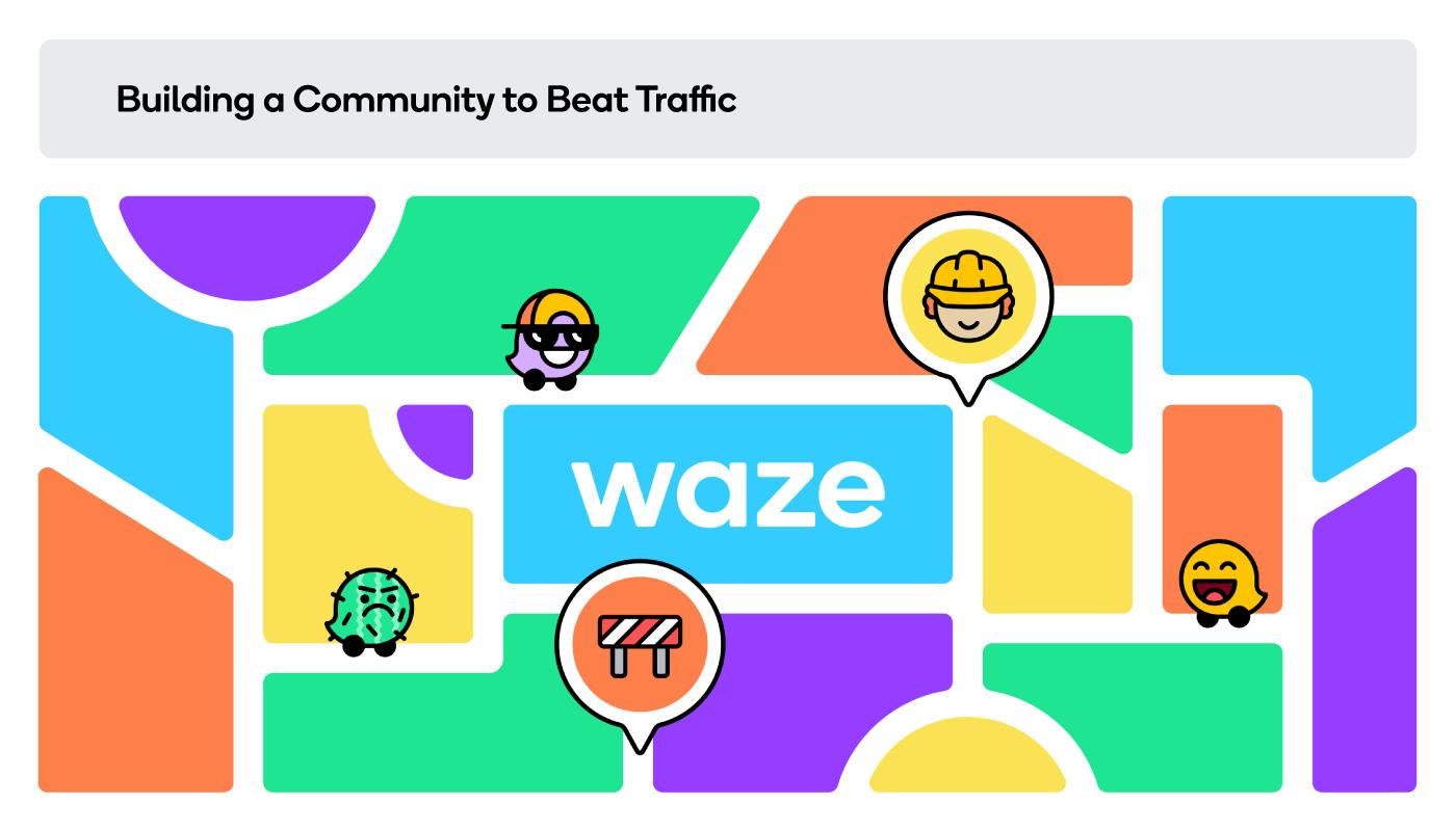 Waze design iconite