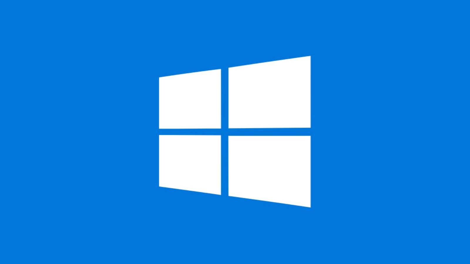 Windows 10 meniul