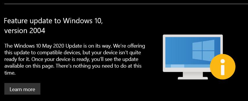 Windows 10 suspendat actualizare