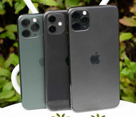 iPhone 11 problema ecran verde