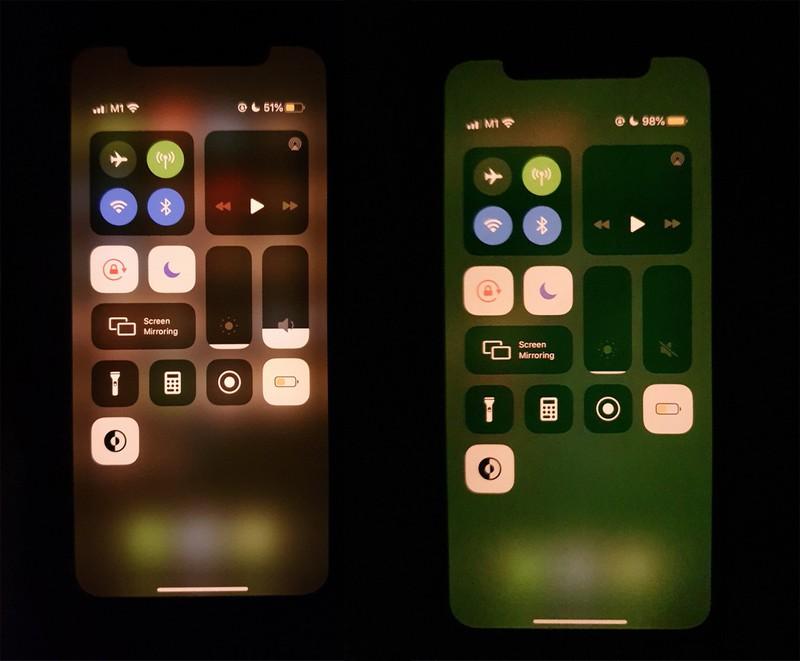 iPhone 11 problema ecran verde apple