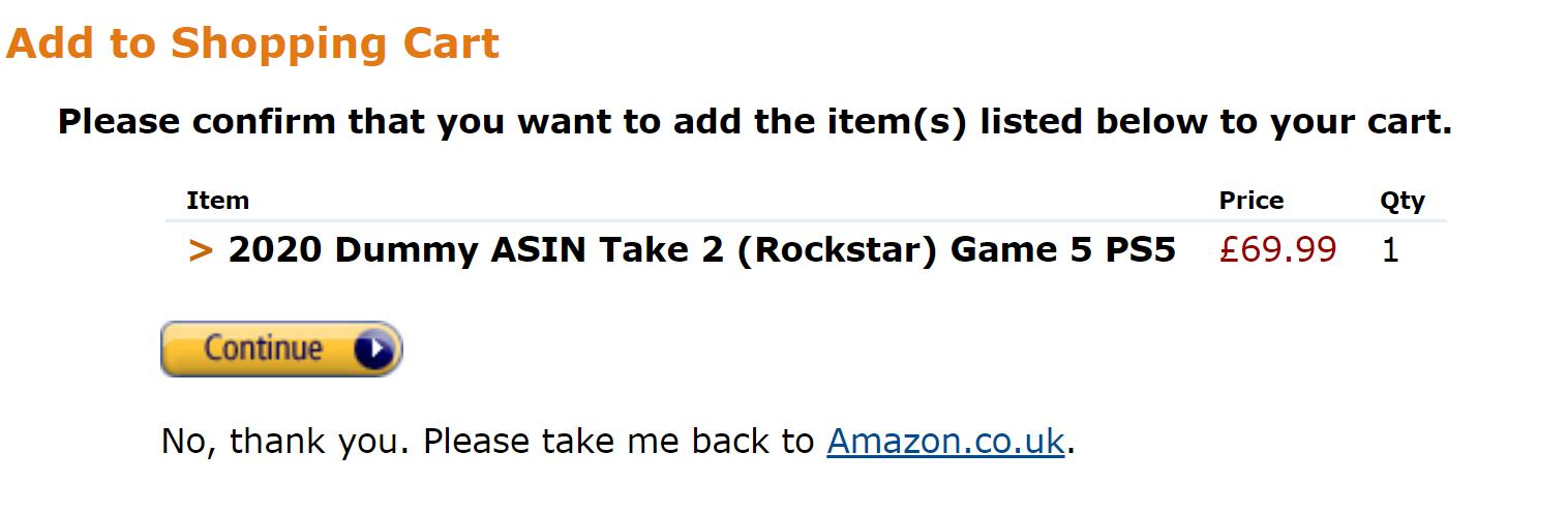 joc Rockstar Games listat magazin Amazon