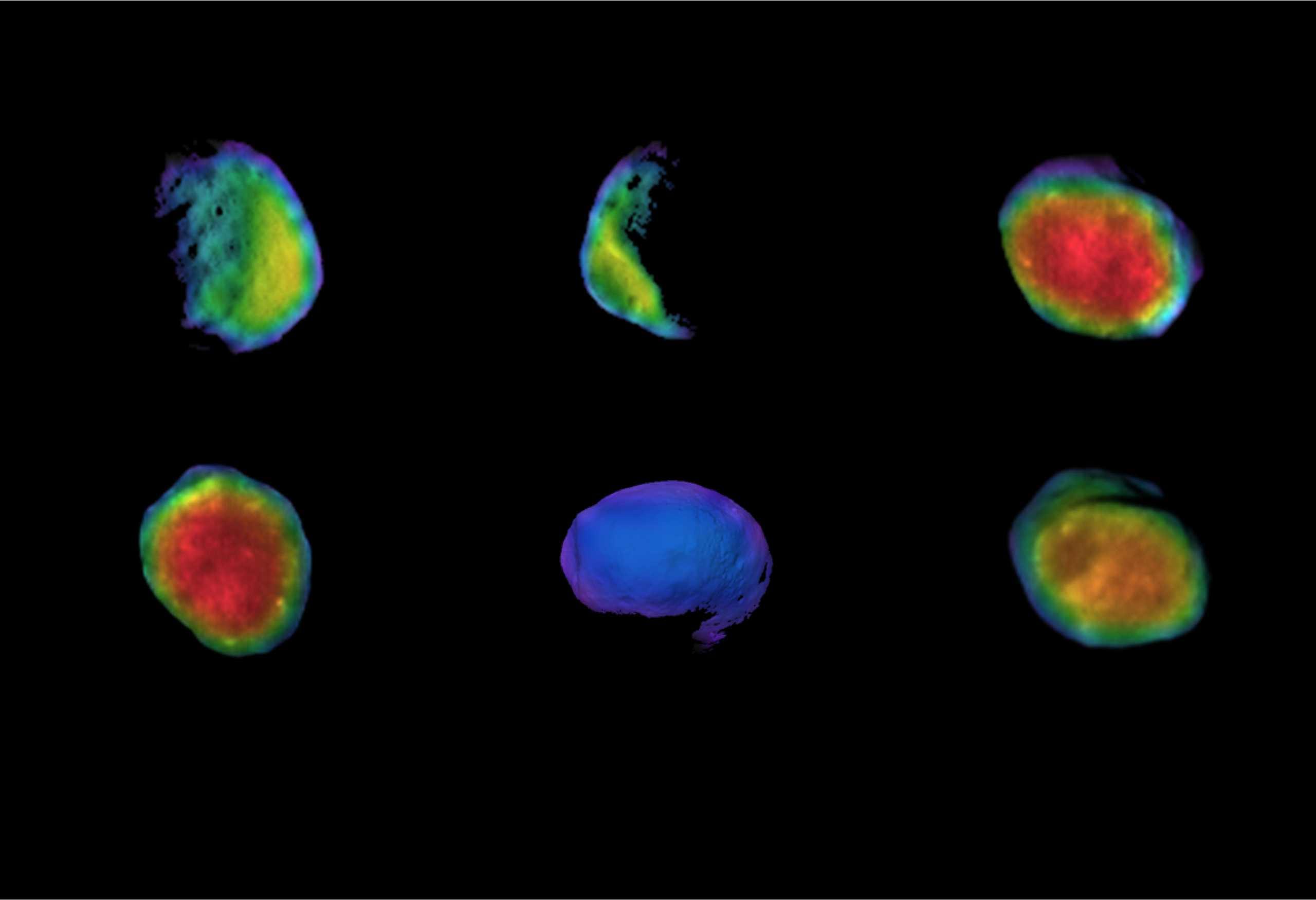 planeta Marte phobos termal