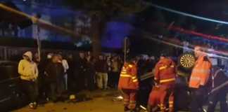 video accident live facebook romania