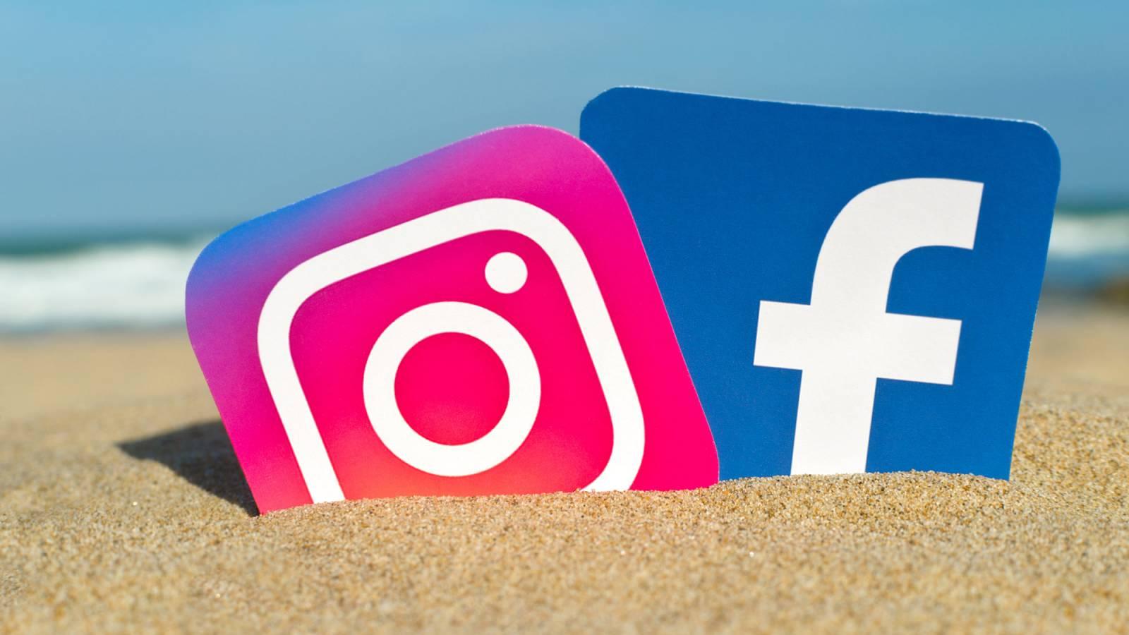Facebook Instagram masca