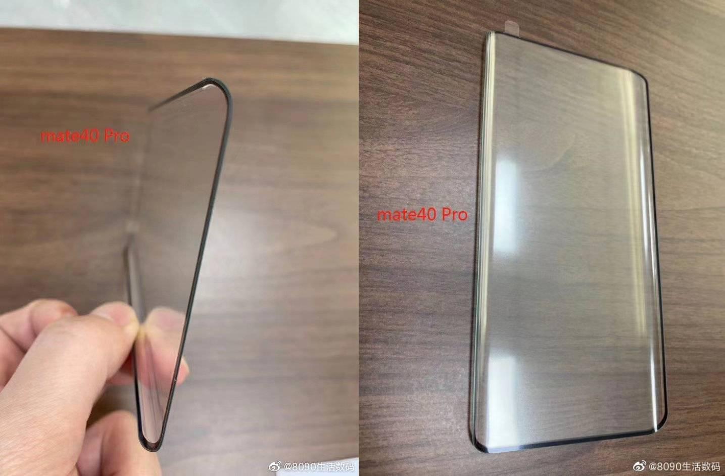 Huawei MATE 40 Pro panourile ecanelor