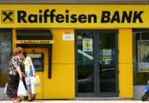 Raiffeisen Bank trotinete