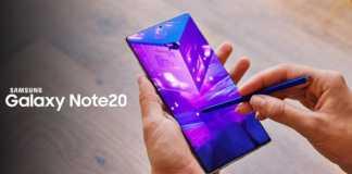 Samsung GALAXY Note 20 gigahertz