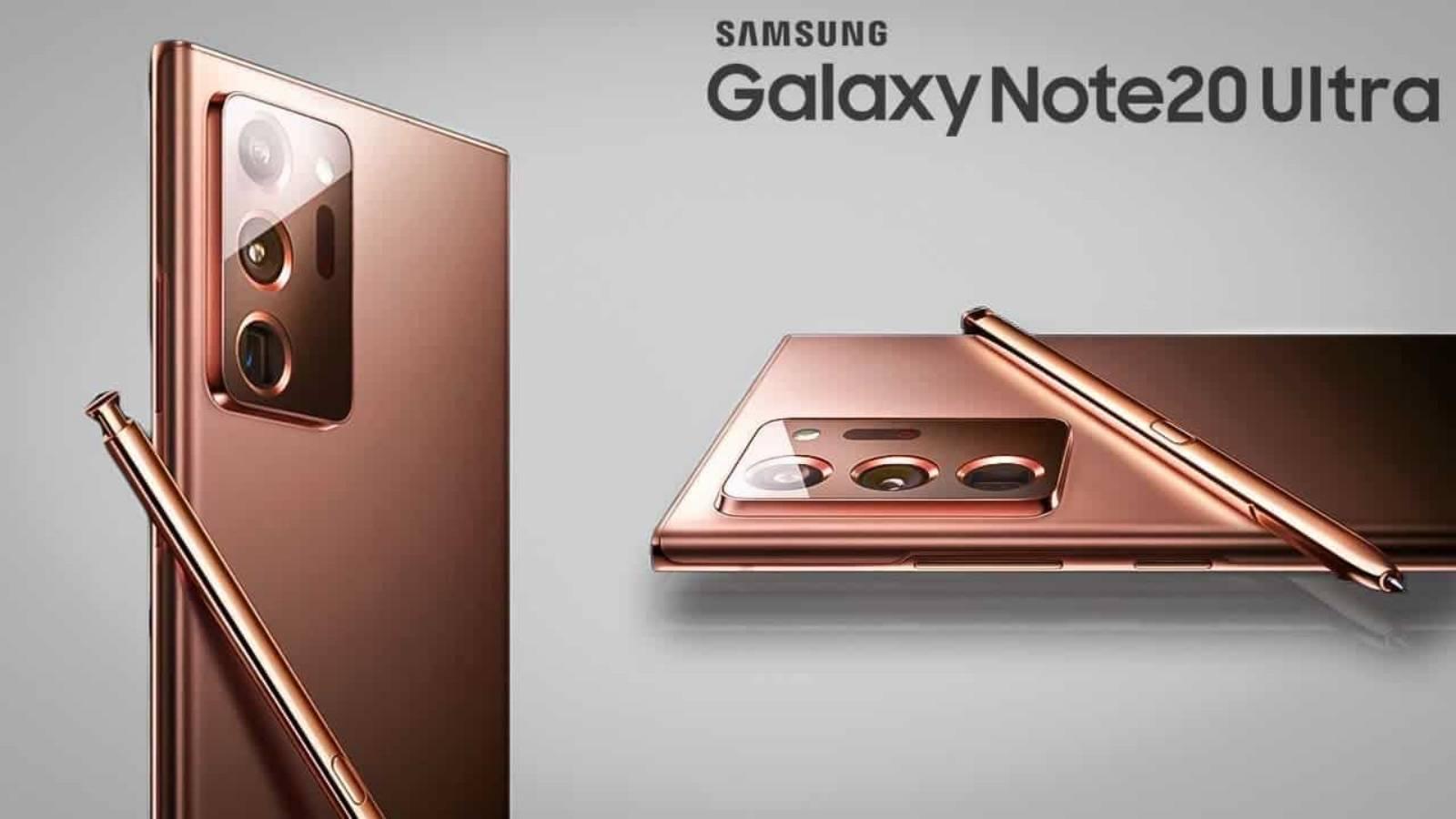 Samsung GALAXY Note 20 rapiditate