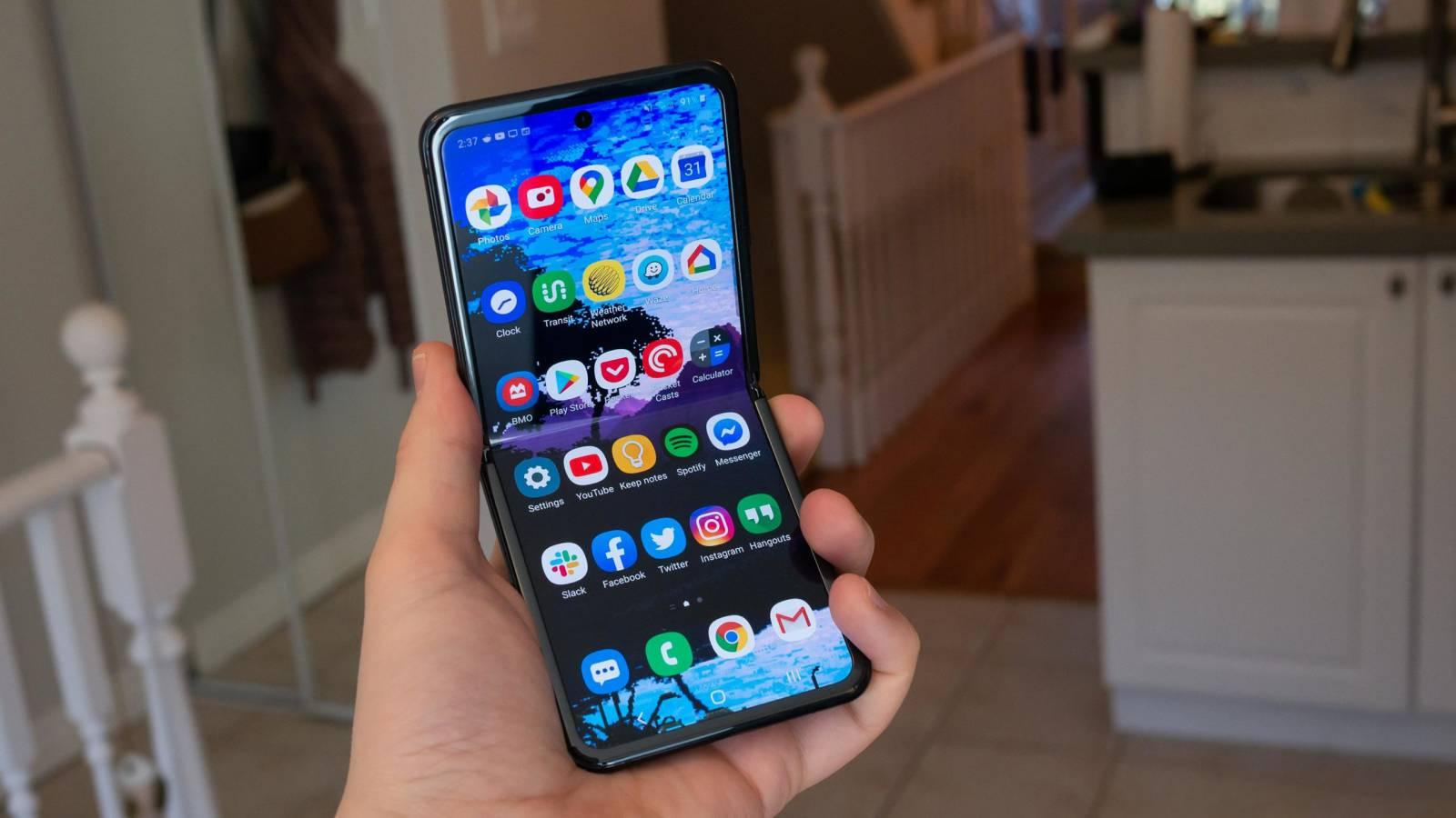Samsung GALAXY Z Flip 5G dezamagire