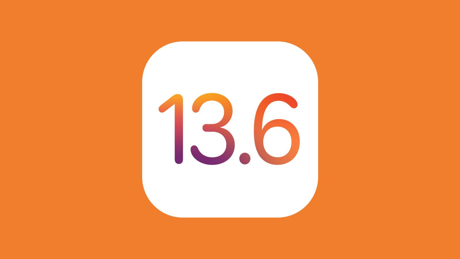 iOS 14 Public Beta iOS 13.6 GM Apple