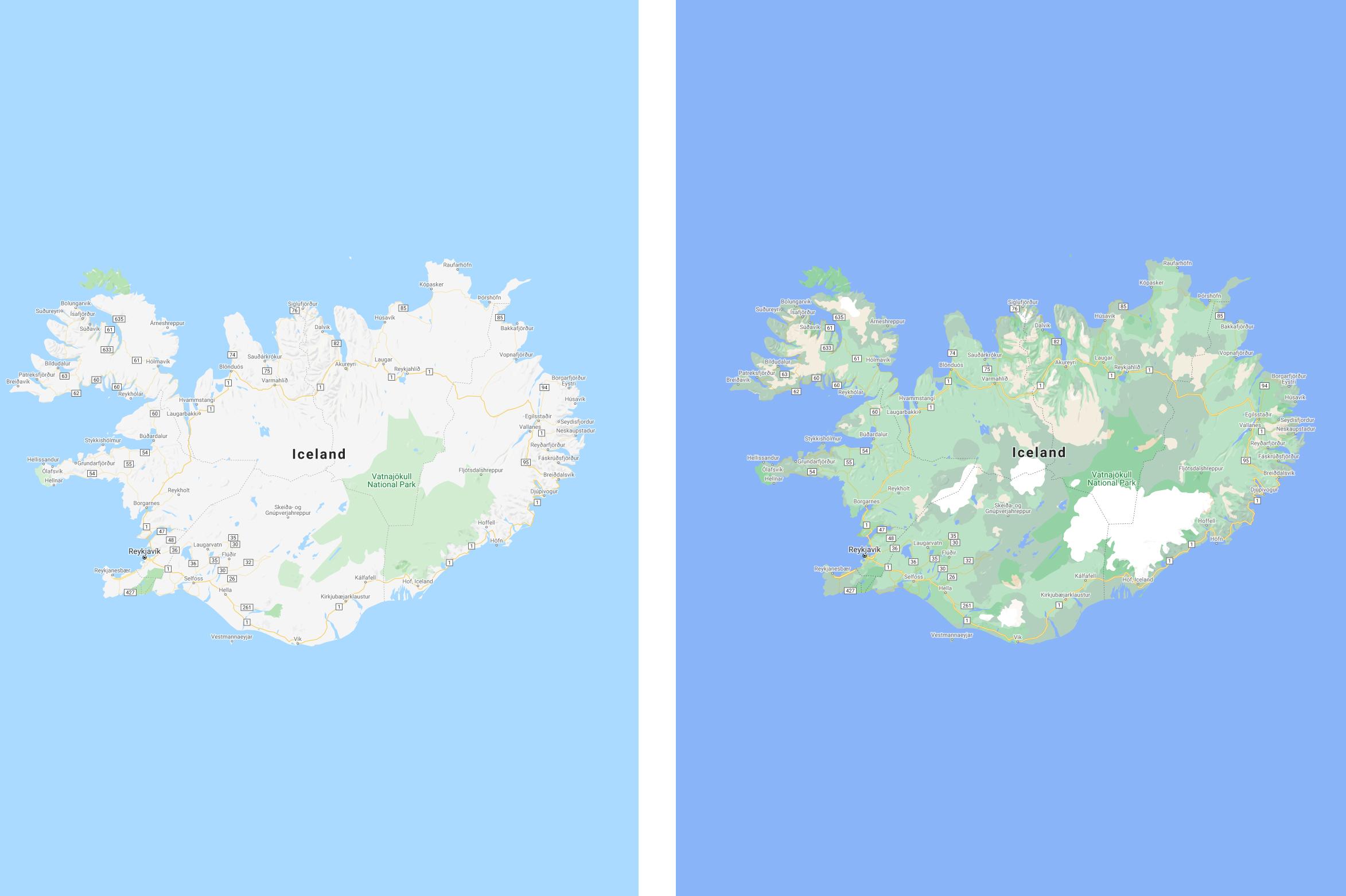 Google Maps update harti online