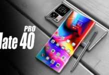 Huawei MATE 40 Pro dezvaluit