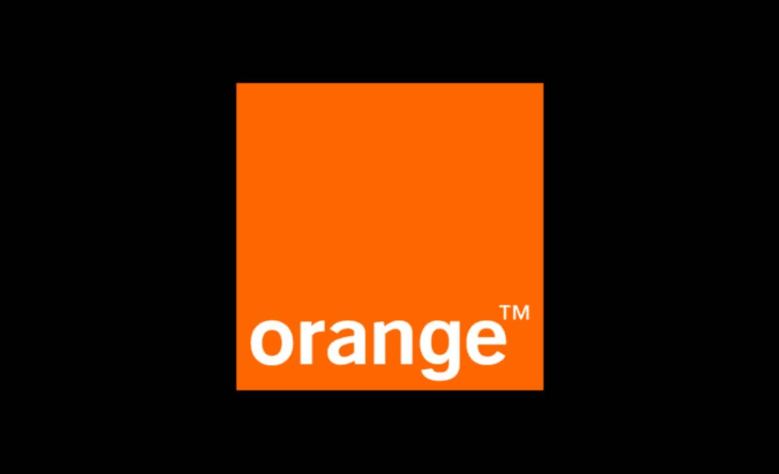Orange inscriere