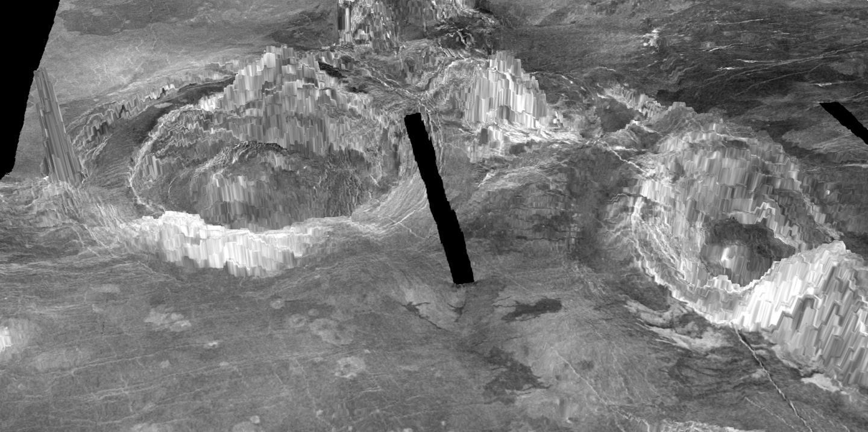 Planeta Venus coroane vulcani